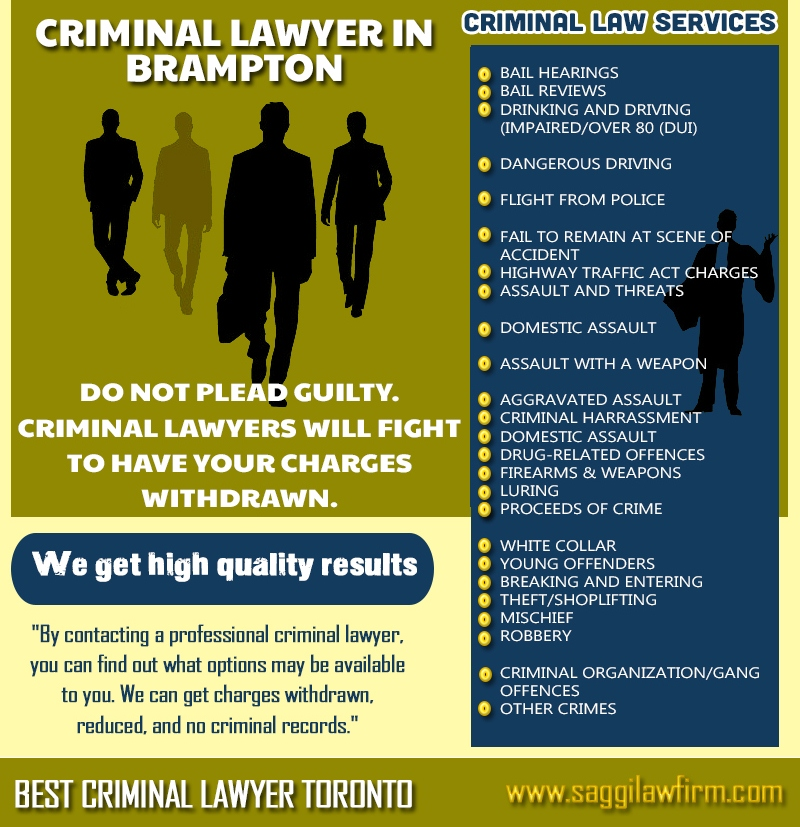 Best Brampton Criminal Lawyers