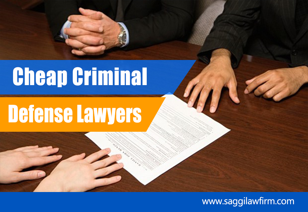 Cheap Criminal Defense Lawyers
