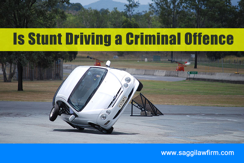 Is Stunt Driving A Criminal Offence