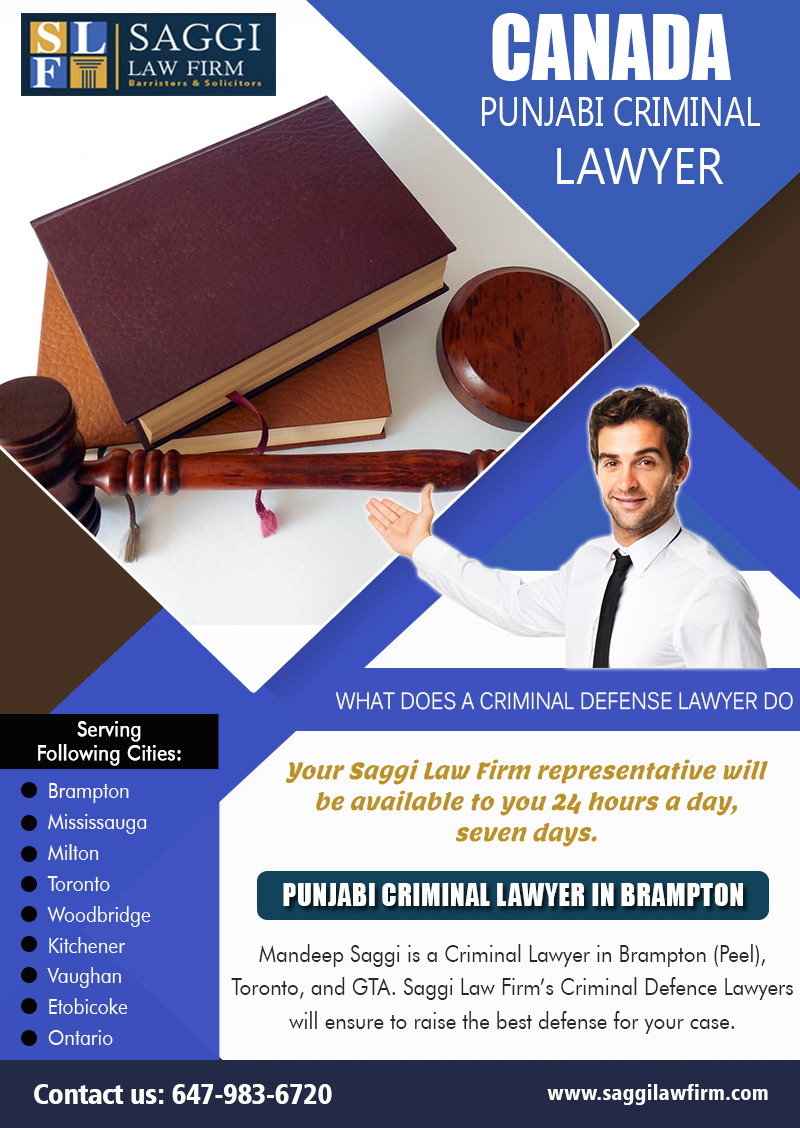 Find A Criminal Lawyer In Brampton Ontario