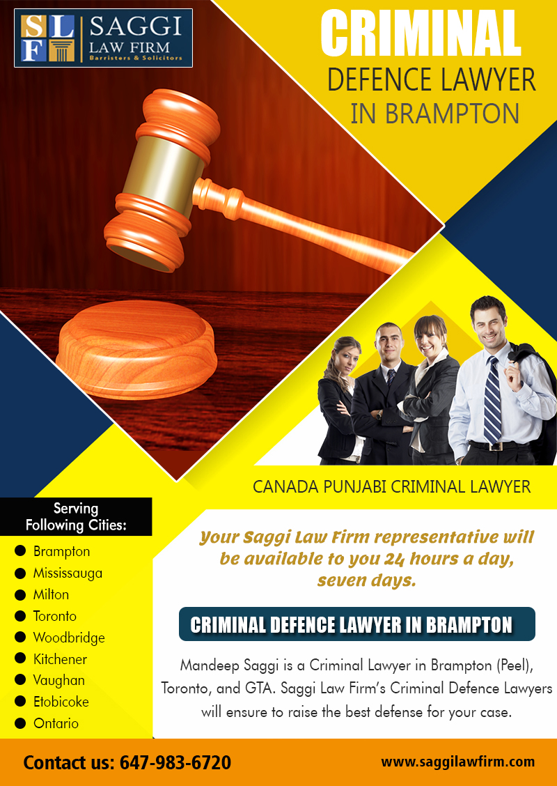 Criminal Defence Attorney In Brampton