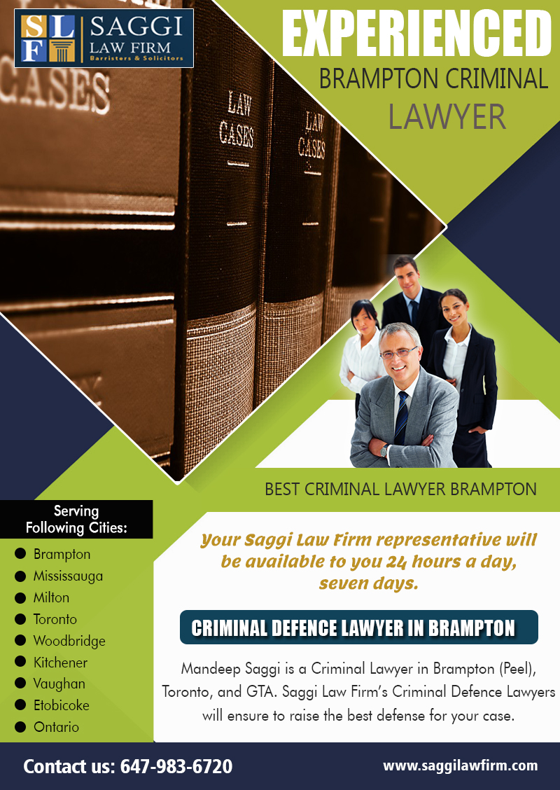 Criminal Lawyer Practicing In Brampton