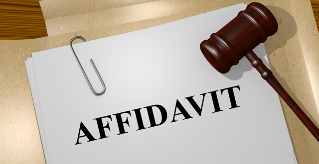 Affidavits Canada
